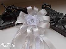 Pierka - svadobné pierko s čipkou III. - 6898897_
