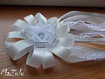 Pierka - svadobné pierko s čipkou III. - 6898898_