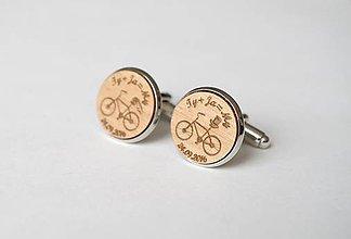 Šperky - Manžetové gombíky - Ty+Ja=My - 6900837_