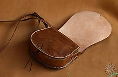 Kabelky - Kožená kabelka Radana Svarga - 6899893_