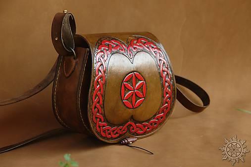 Kožená kabelka Radana Svarga