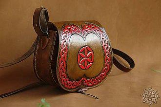 Kabelky - Kožená kabelka Radana Svarga - 6899890_
