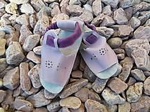 Topánočky - Barefoot sandalky s gumenou podrazkou skladom Vd 16,3cm - 6900607_