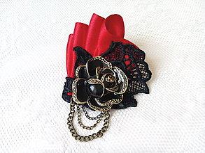Odznaky/Brošne - Hot tango (brooch) - 6902054_