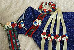 Náramky - Kvetinový náramok pre družičky - 6903409_