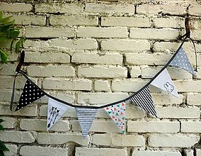 Textil - Praporky na postýlku 7 ks - 6902405_