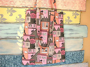 Nákupné tašky - Taška pro kočičí frankofilku - 6901569_