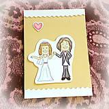 Papiernictvo - Svadobná pohľadnica - D&B 5 - 6902183_
