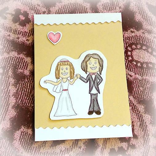 Svadobná pohľadnica - D&B 5