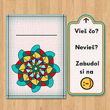 Papiernictvo - Nezabudni - optimistická pohľadnica (1) - 6903083_