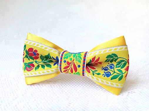 Mini Folklore hair clip (yellow)
