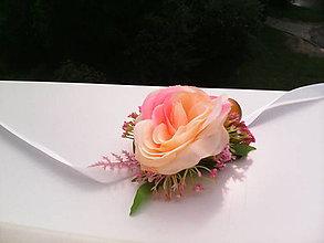"""Náramky - Kvetinový náramok """"Ružičky v záhrade..."""" - 6903681_"""
