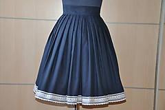 Sukne - SUKŇA - Parížská modrá - 6905914_