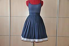 Sukne - SUKŇA - Parížská modrá - 6905915_