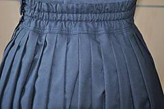 Sukne - SUKŇA - Parížská modrá - 6905919_