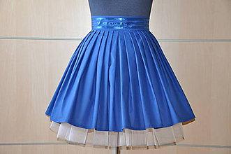 Sukne - SUKŇA - Karibská modrá - 6905864_