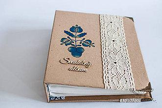 Papiernictvo - Folkový svadobný fotoalbum - 6904822_