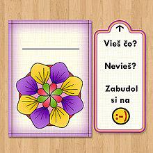 Papiernictvo - Nezabudni - optimistická pohľadnica 3 - 6903834_