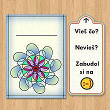 Papiernictvo - Nezabudni - optimistická pohľadnica (5) - 6904083_