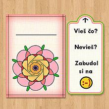 Papiernictvo - Nezabudni - optimistická pohľadnica 7 - 6904608_