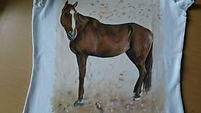 Tričká - Koník maľovaný - 6906246_