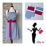 Iné oblečenie - zástera Lea - 6906993_