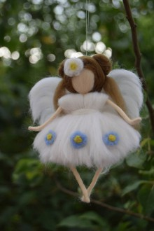 Dekorácie - Anjelinka Lili - 6908126_