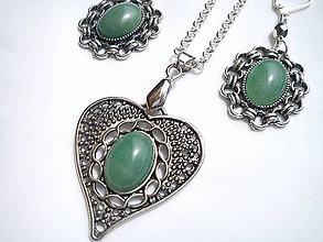 Sady šperkov - Sada- Aventurín - 6906714_
