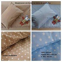 Textil - Obojstranné návliečky na mieru De LUXE Star do postieľky - 6909135_