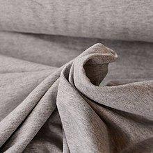 Textil - Sivá teplákovina - 6908377_