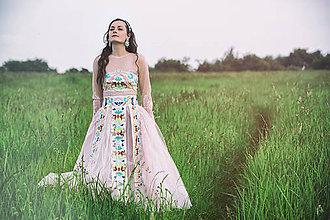 Šaty - Šaty s výšivkou,,Bonjour broderie,, - 6908941_