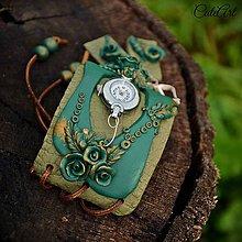 Náramky - Medené ruže III. - sada hodiniek a náušníc - 6908709_