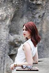 Šaty - Štýlová vesta - 6907838_
