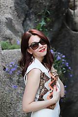 Šaty - Štýlová vesta - 6907843_