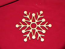 Dekorácie - Drevené vianočne ozdoby z dreva 33 - 6906577_