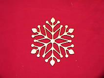 Dekorácie - Drevené vianočne ozdoby z dreva 34 - 6906590_