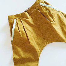 """Detské oblečenie - unisex nohavice dlhé """"Zlatý Trendsetter"""" - 6909228_"""