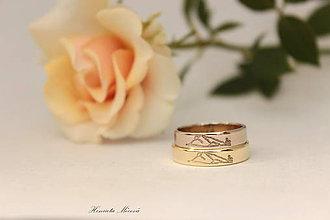 Prstene - Zlaté obrúčky - Kriváň - 6910091_