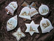 Vianoce - maľovaná medovníková kolekcia - 1002670