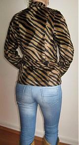 Kabáty - Sako s tigrým vzorom - 1003271