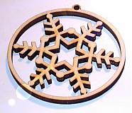 Dekorácie - guľa - s hviezdičkou - 1005938