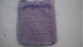 Veľké tašky - Taška-fialová kvetinka - 1017662
