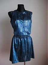 Šaty - Tyrkysovo  - 1020842