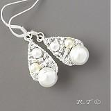 Náhrdelníky - Svatební náhrdelník... - 1033172