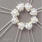 Náhrdelníky - Svatební náhrdelník... - 1033176