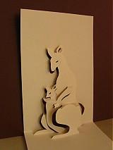 Papiernictvo - kirigami pohľadnica - 103486