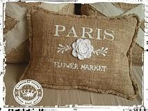 Úžitkový textil - X2/vankúš romantic Paris - 1044075