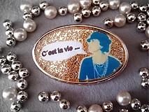 Odznaky/Brošne - Coco brošňa - 104573