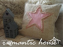 Úžitkový textil - U2/vankúš Star - 1053444