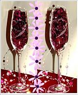 Nádoby - Svadobné poháre Evelyn - 1055692